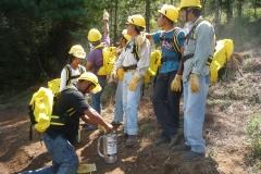 Instructores campesinos 8va generación  (Curso básico para combatientes de incendios forestales).
