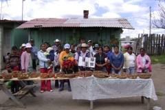 Taller de capacitación elaboración de artesanías de hoja de pino